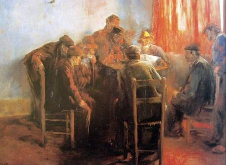 Obreros leyendo