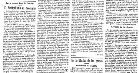 Página 2 del nº 71 de Tierra y Libertad.